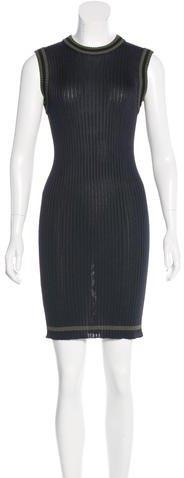 pradaPrada Sleeveless Rib Knit Dress
