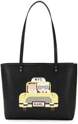 Karl Lagerfeld Paris Taxi Maybelle Tote