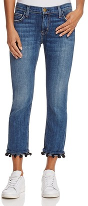 Current/Elliott The Cropped Straight Jeans in New Love - 100% Exclusive $258 thestylecure.com