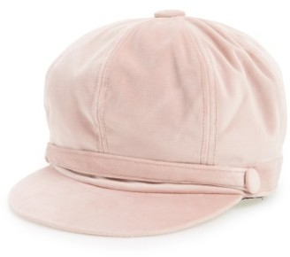 Amici Accessories Women's Newsboy Cap - Pink