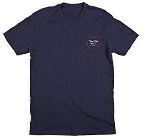 Brixton Men's Wheeler II Short Sleeve Standard Fit Tee