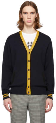 Rag & Bone Navy Stockton Cardigan