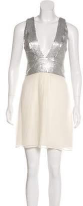 Sheri Bodell Sequin Knee-Length Dress