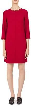 Gerard Darel Amaya Scalloped Lace-Trimmed Dress