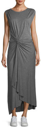 A.L.C. Emile Sleeveless Knot-Front Maxi Dress