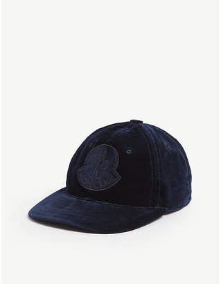 Moncler Berretto velvet cotton cap