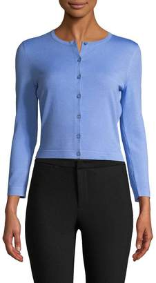 Carolina Herrera Women's Ribbed Cardigan