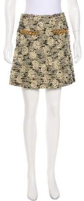Blumarine Wool-Blend Skirt