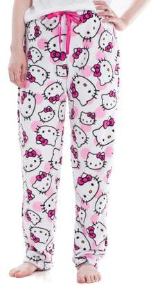 Juniors' Hello Kitty Plush Pajama Pants