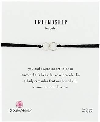 Dogeared Friendship Double-Linked Adjustable Closure Bracelet
