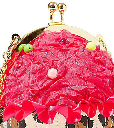 Betsey Johnson Surprise Surprise Betsey Cupcake Wristlet