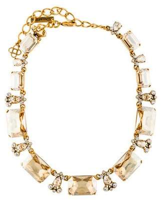 Oscar de la Renta Large Crystal Collar Necklace