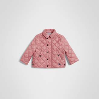 Burberry Childrens Lightweight Diamond Quilted Jacket