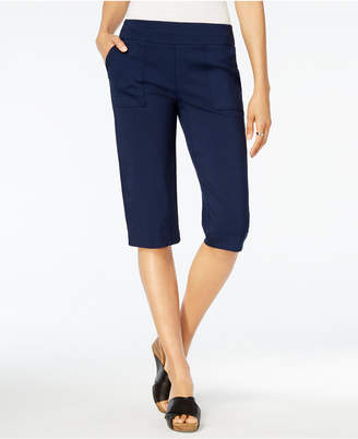 Style & Co Pull-On Capri Pants, Created for Macy's $46.50 thestylecure.com