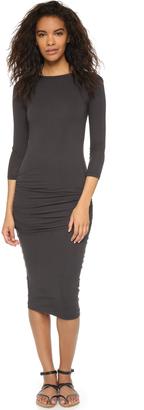 James Perse Low Back Dress $245 thestylecure.com