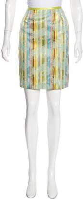 Cynthia Steffe Cynthia Printed Knee-Length Skirt