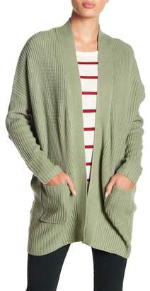 Wishlist Shawl Collar Knit Cardigan