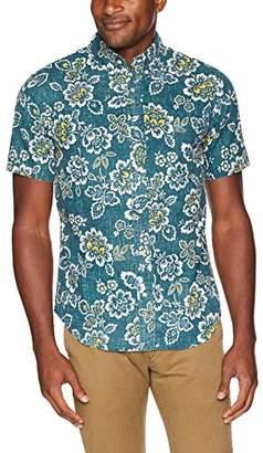Reyn Spooner Men's Weekend Wash Tailored Fit Hawaiian Shirt
