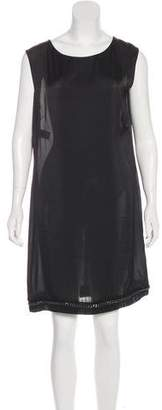 Philosophy di Alberta Ferretti Embellished Knee-Length Dress