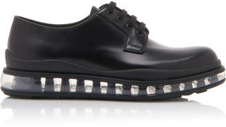Prada Leather Derby Shoe