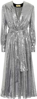 MSGM Sequined maxi dress