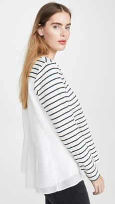 Clu Stripe Shirt with Paneled Back