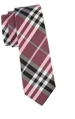 Burberry Manston Plaid Silk Tie