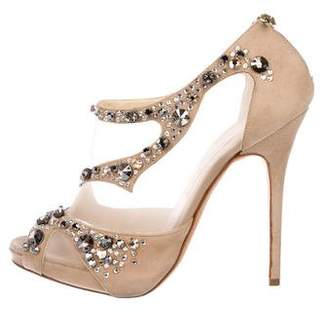 Jimmy Choo Embellishment High Heel Sandals