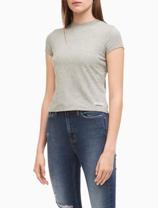Calvin Klein mock neck baby t-shirt