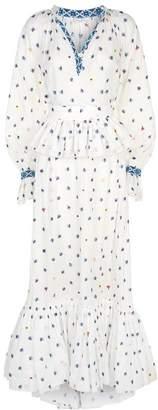 Natasha Zinko Floral Embroidered Maxi Dress