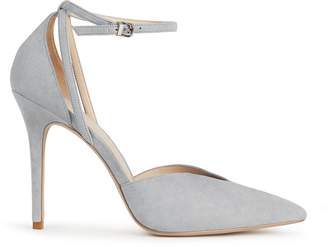 Reiss Katya Suede Ankle-Strap Shoes