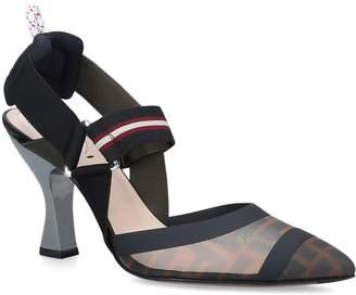 Fendi Slingback Mules 85
