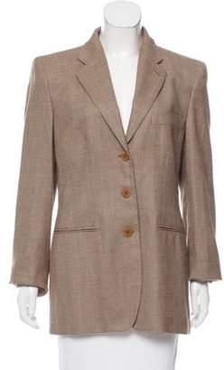 Giorgio Armani Tweed Cashmere Blazer