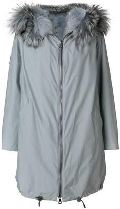Gianfranco Ferre fur trim coat