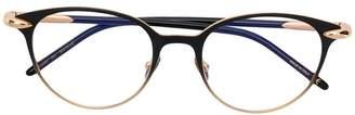 Pomellato Eyewear round glasses