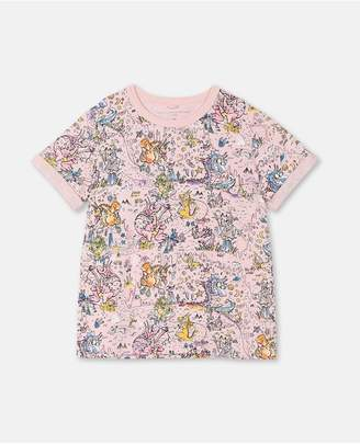 Stella McCartney Dragons Cotton T-Shirt
