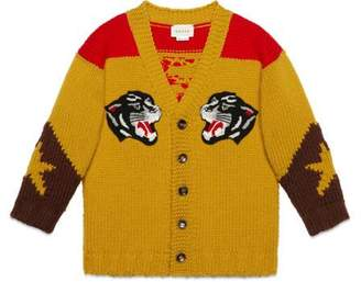 Gucci Children's jacquard cardigan