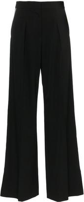 Stella McCartney wide-leg silk trousers
