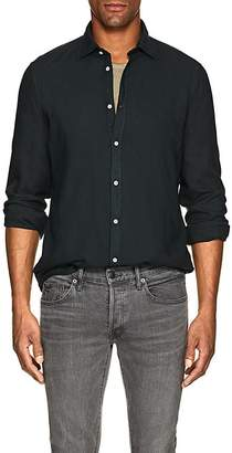 Massimo Alba Men's Washed Slub Twill Shirt
