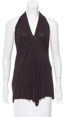 Rick Owens Jersey Halter Top w/ Tags