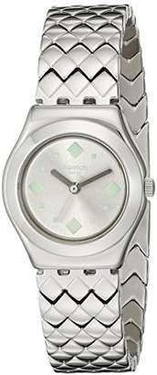 Swatch Women's YSS291G Irony Analog Display Swiss Quartz Watch