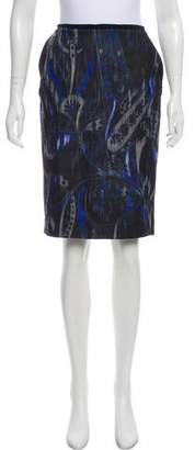 T Tahari Sloanne Patterned Skirt w/ Tags