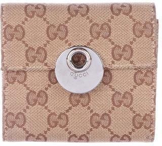 GucciGucci GG Canvas Compact Wallet