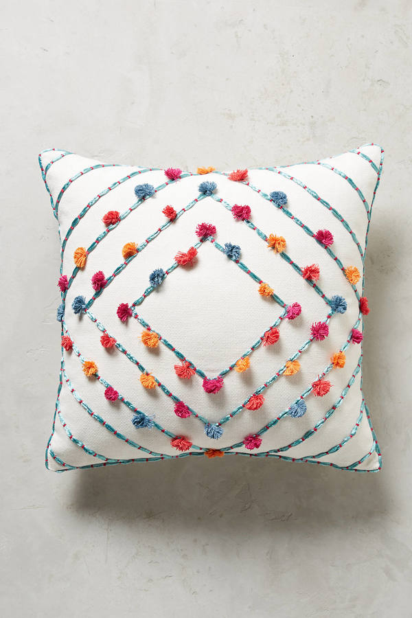 AnthropologieAnthropologie Suzette Tasseled Pillow