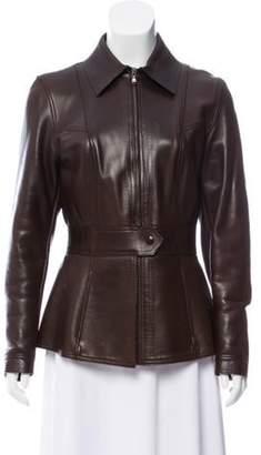 Cesare Fabbri Lightweight Point Collar Jacket brown Lightweight Point Collar Jacket