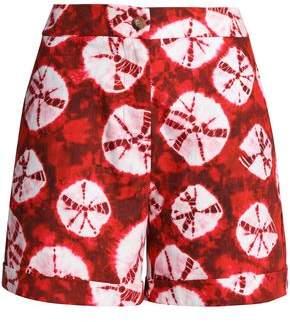 Stella Jean Printed Cotton-poplin Shorts
