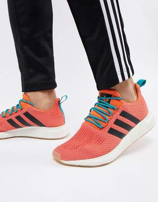 adidas Swift Run Summer Sneakers In Orange CQ3086
