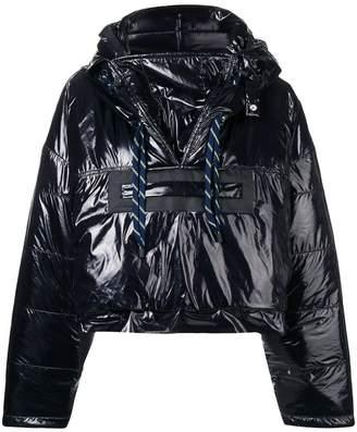 Maison Margiela cropped padded jacket