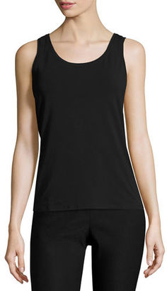 NIC+ZOE Perfect Jersey Scoop-Neck Tank $48 thestylecure.com