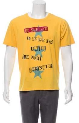 Valentino Jamie Reid Poem Graphic T-Shirt w/ Tags